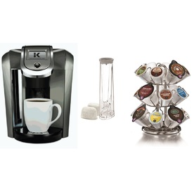 KEURIG Black Programmable Single-Serve Coffee Maker K525p...