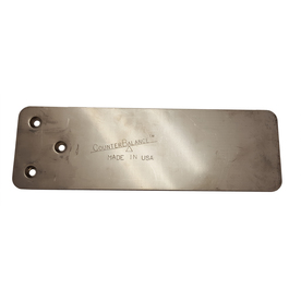 Counterbalance Couterplate Xl Stainless Steel 0.1875-In X...