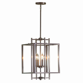 Display Product Reviews For 14 02 In Brushed Nickel Single Cage Pendant