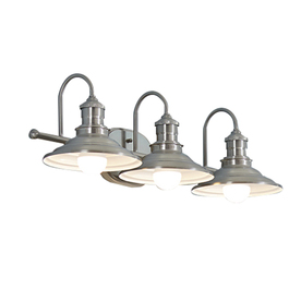 Display Product Reviews For Hainsbrook 3 Light 25 98 In Antique Pewter Cone Vanity