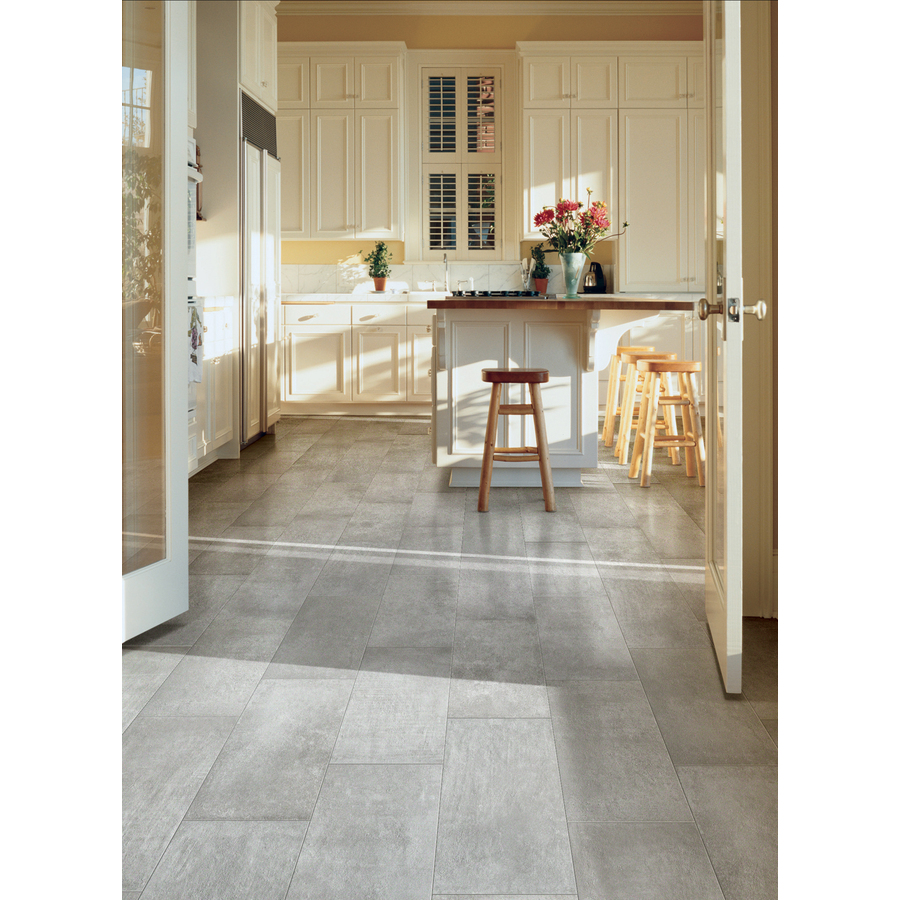 Cityside Gray Porcelain Floor