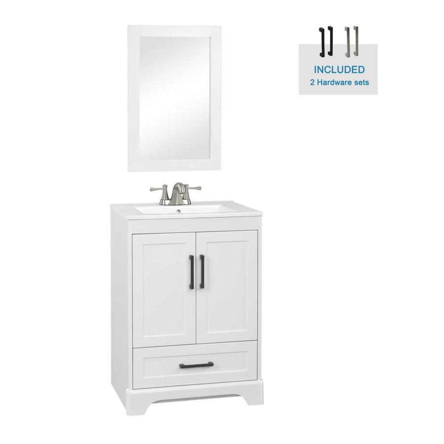 Corner Bathroom Vanities At Lowes Com