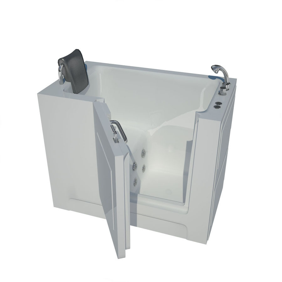 Endurance Endurance Tubs 27-In W X 47-In L White Acrylic Right-Hand Drain 2747Rwh