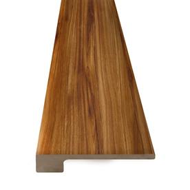 Arcade Green 96-In X 1.375-In Golden Koa Natural Wood Fea...