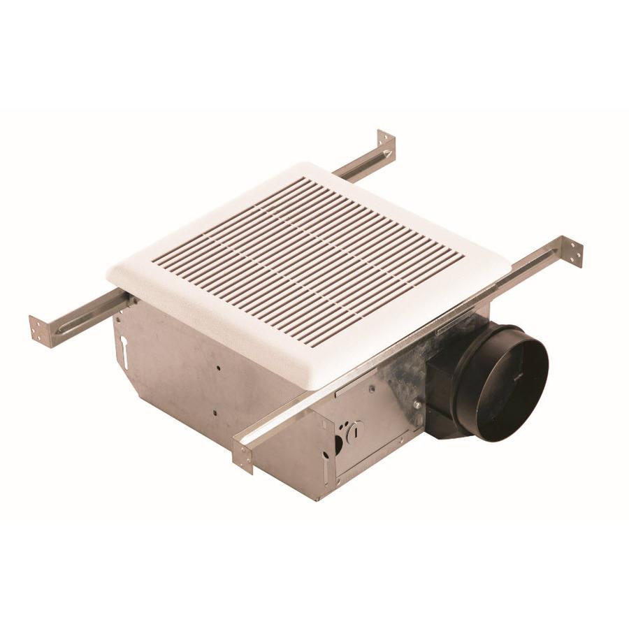 Shop Utilitech 2 Sones 90 Cfm White Bathroom Fan At Lowes Com