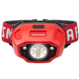 CRAFTSMAN 450-Lumen LED Headlamp Batteries Battery Camping Brand Modes Flash