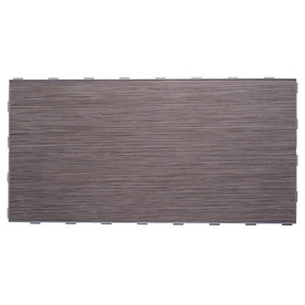 "Luxury ThinLine 12"" x 24"" Porcelain Field Tile in Graphite"