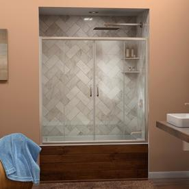 Dreamline Visions 60-In W X 58-In H  Bathtub Door Shdr-11...