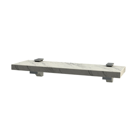 Display Product Reviews For Carrara White Marble Bathroom Shelf