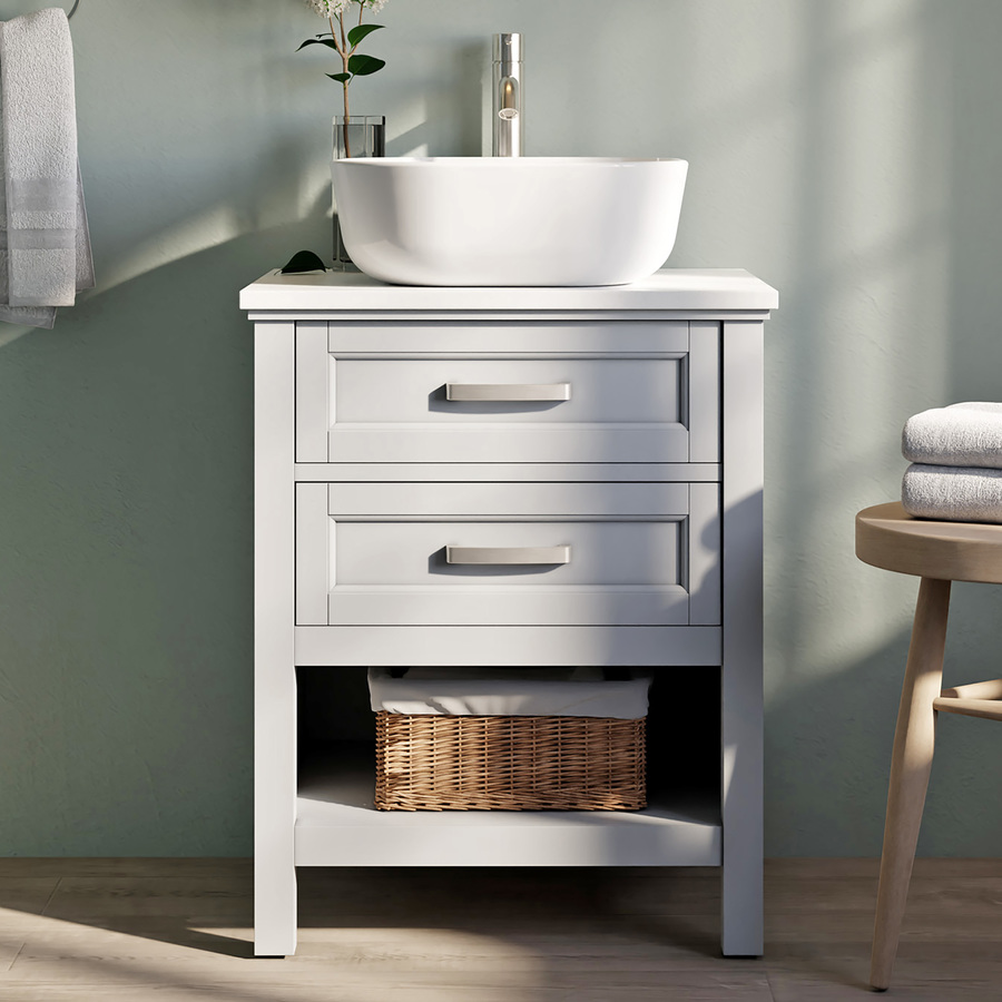 Unfinished Bathroom Vanities At Lowes Com