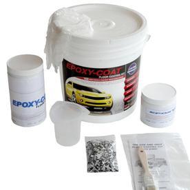 Epoxy-Coat 2-Part Safety Yellow High-Gloss Garage Floor E...