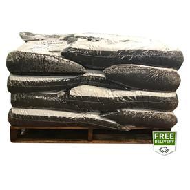 Rubberific 40-Cu Ft Brown Shredded Bulk Rubber Mulch Lrm4...