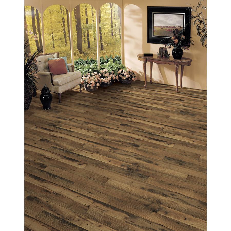 Allen Roth Rustic Mill Oak Wood