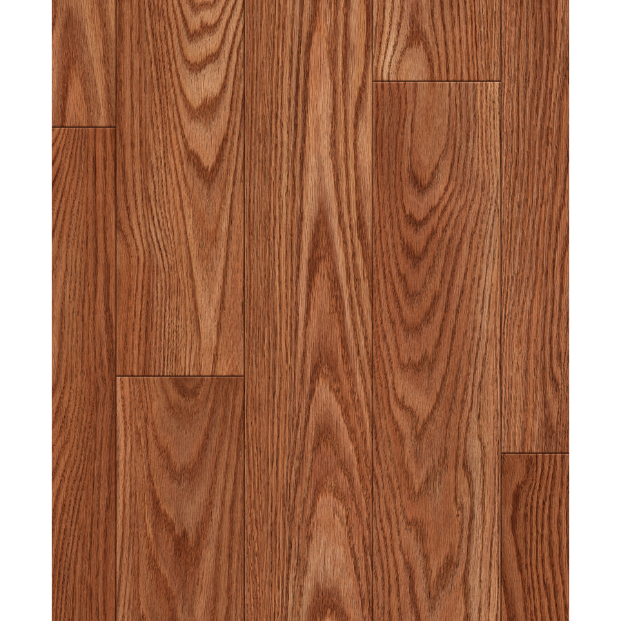Shop Allen Roth 4 96 In W X 4 23 Ft L Nutmeg Oak