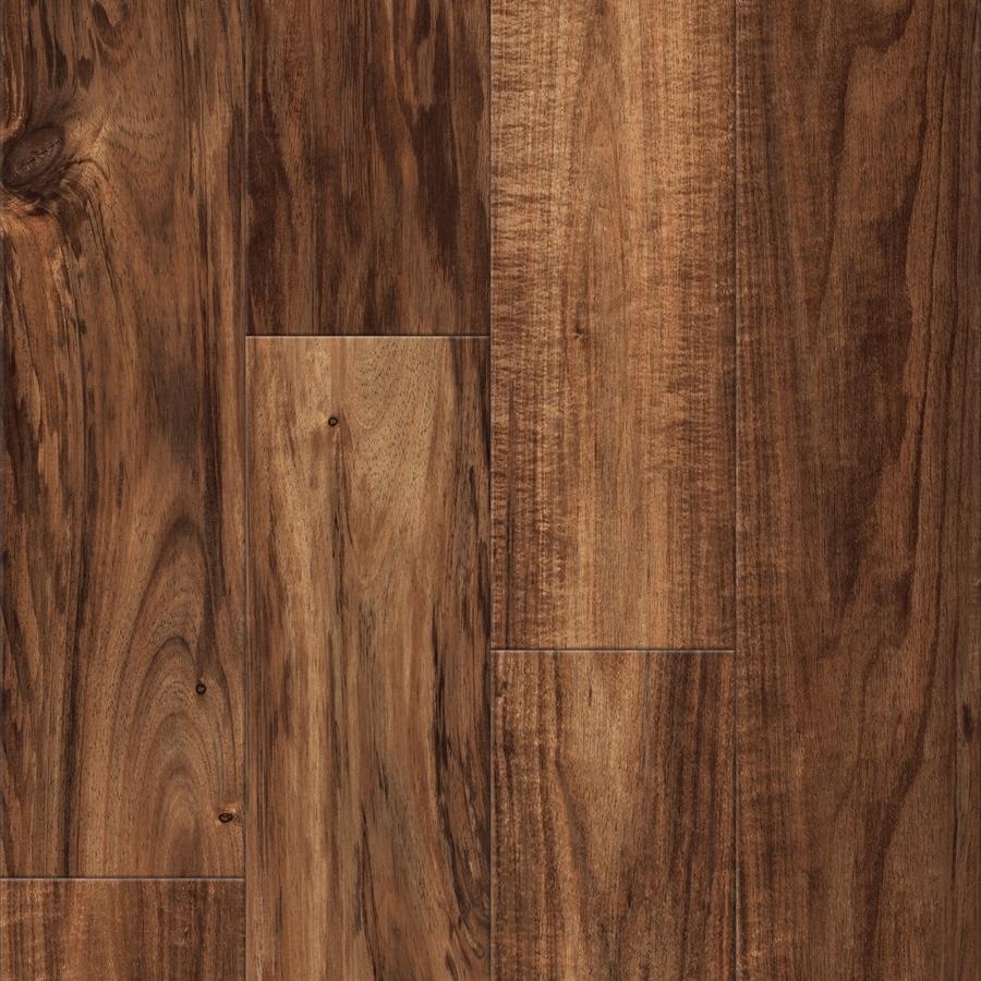 Shop Allen Roth Handscraped Acacia Wood Planks Sample