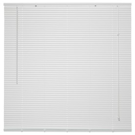 project source blinds project source 1in white vinyl light filtering miniblinds common 20in actual 20in 42in cdmf2442a20 cordless mini blinds common 72in