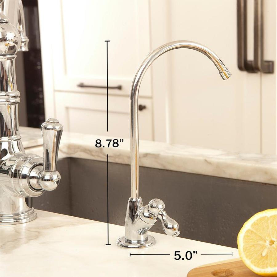 Aquasana Max Flow Triple Stage Carbon Block Under Sink Water Filtration System In The Under Sink Filtration Systems Department At Lowes Com