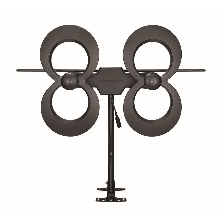 Antennas Direct Outdoor HD; UHF; VHF TV Antenna in Black | C4MVJ