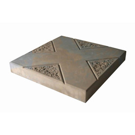 Display Product Reviews For Insignia Brown/Charcoal Blend Patio Stone  (Common: 16