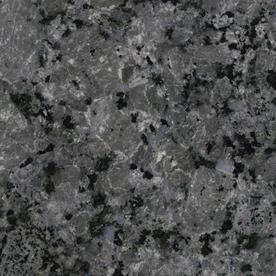 Shop SenSa 2-in W x 3-in L Cosmic Grey Granite Kitchen Countertop ... - Grey Granite Countertops