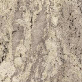 Shop Sensa Silver Silk Granite Kitchen Countertop Sample