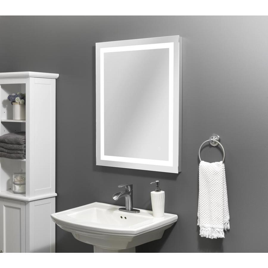 Led Lit Mirror Rectangular Frameless