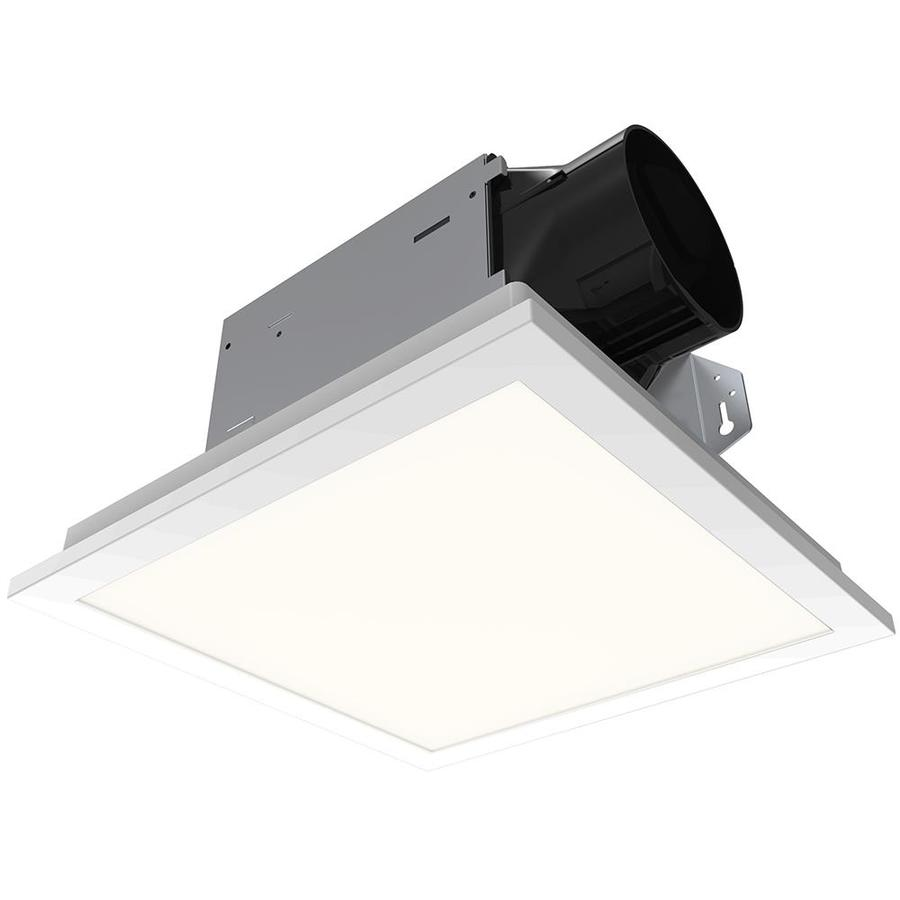 Utilitech Ventilation Fan 1 5 Sone 100 Cfm White Bathroom Fan Energy Star In The Bathroom Fans Heaters Department At Lowes Com