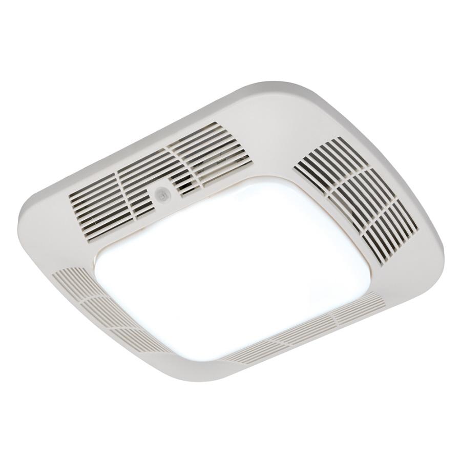 Shop Harbor Breeze 1.2-Sone 110-CFM White Bathroom Fan
