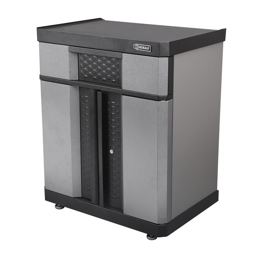 Shop Cabinets: Shop Kobalt 36.5-in H X 30-in W X 20.5-in D Metal Garage