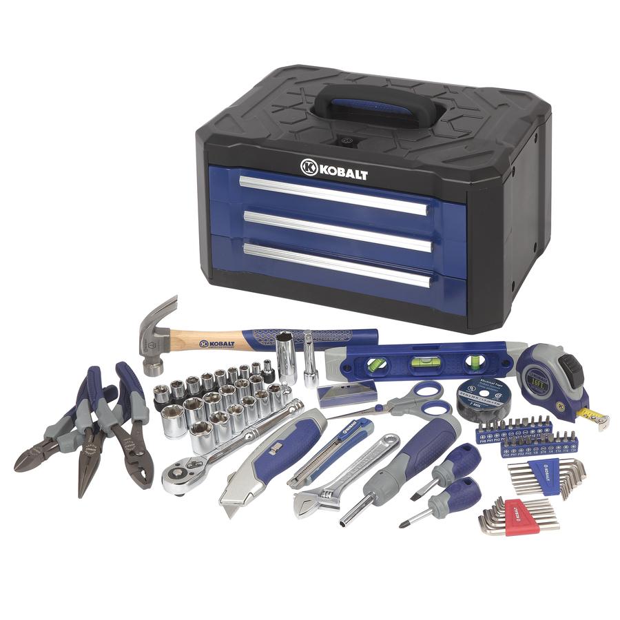 Shop Kobalt Household Tool Set (84-Piece) At Lowes.com