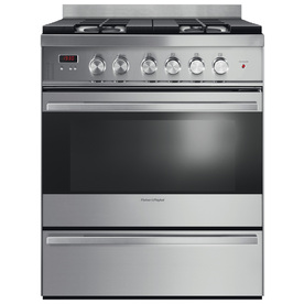 Fisher & Paykel Freestanding 3.6-Cu Ft Convection Gas Ran...