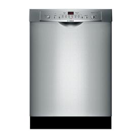 Bosch Ascenta 50-Decibel Built-In Dishwasher (Stainless S...