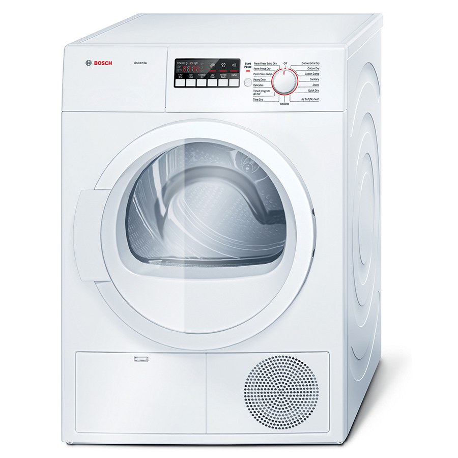 Bosch Dryer: Shop Bosch 4-cu Ft Stackable Electric Dryer (White) At