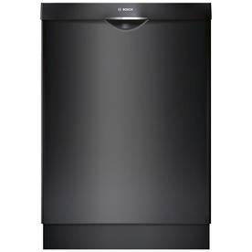 Bosch Ascenta 46-Decibel Built-In Dishwasher (Black) (Com...