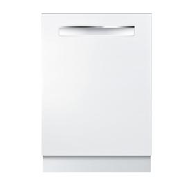 Bosch 500 Series 44-Decibel Built-In Dishwasher (White) (...