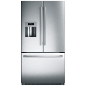 Bosch 800 Series 25.5-Cu Ft French Door Refrigerator With...