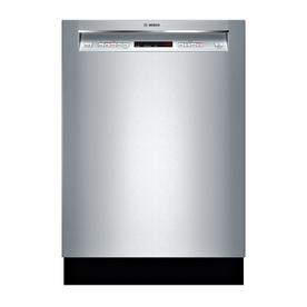 Bosch 300 Series 44-Decibel Built-In Dishwasher (Stainles...