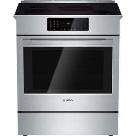 Bosch 800 Series 4.6-Cu Ft Slide-In Induction Range (Stai...