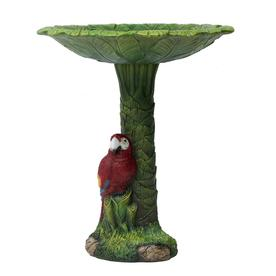 Display Product Reviews For 20 In H 1 Tier Round Resin Birdbath