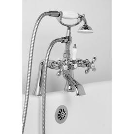 bathtub faucet and shower head. Display Product Reviews For F90 Series Chrome 2 Handle Fixed Deck Mount Bathtub  Faucet Shop Faucets At Lowes Com