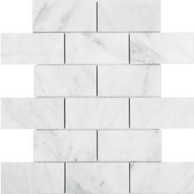 "12"" x 12"" Venatino Polished Marble Mosaics"
