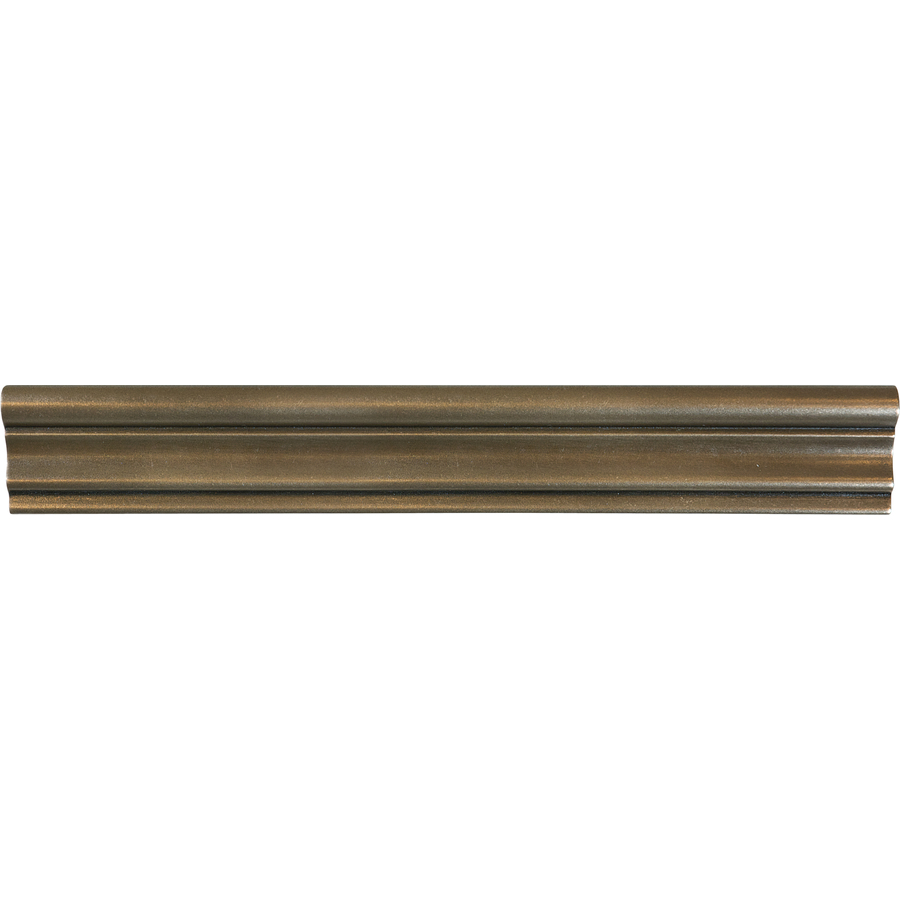 Shop Bronze Metal Chair Rail Tile (Common: 2-in X 12-in