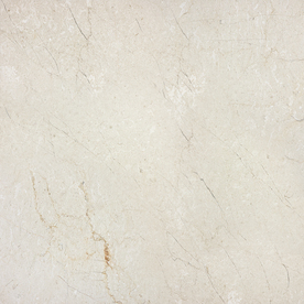 allen + roth Classic Cream Marble Floor and Wall Tile (Common: 18-in x 18-in; Actual: 18-in x 18-in) 20-663