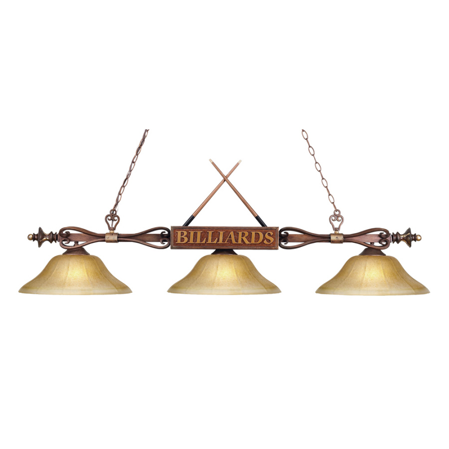 in westmore lighting 60 in w 3 light wood patina kitchen island light