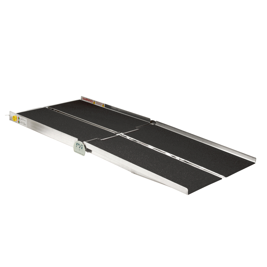 Prairie View Industries 8-Ft X 30-In Aluminum Folding Entryway Wheelchair Ramp Wcr830