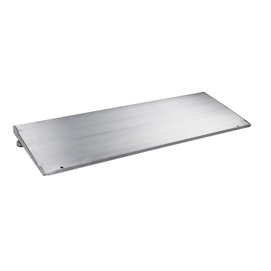 Prairie View Industries 1-Ft X 36-In Aluminum Threshold Doorway Wheelchair Ramp Ath1236