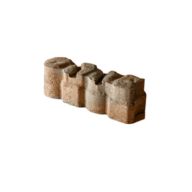 Alameda Tan-Gray-Charcoal/Smooth Texture Straight Edging Stone (Common 12-in x 4-in; Actual: 12-in x 3.625-in) P500412B41AE