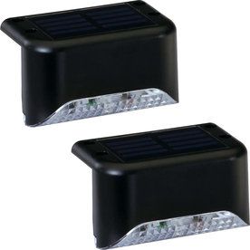 Display Product Reviews For 2x 2 Light Black Solar Led Railing Kit
