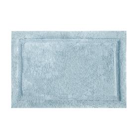 Asheville Organic Cotton Bath Rug Color: Denim Blue, Size: 24