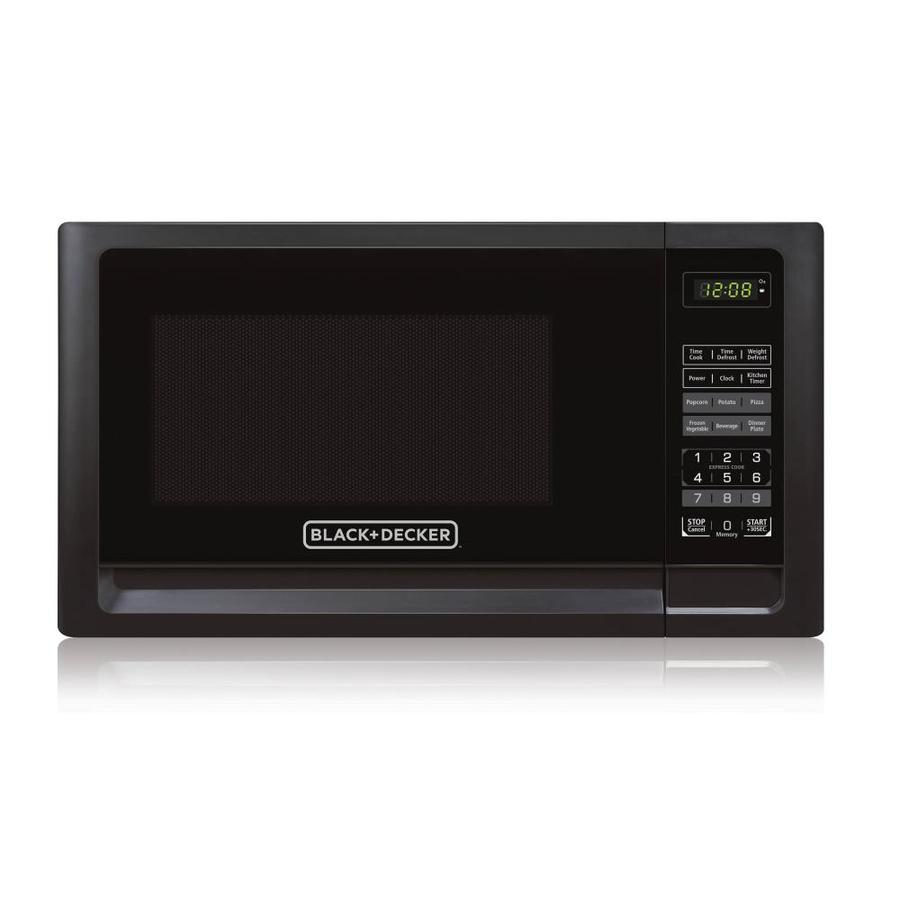 Black & Decker EM925AFO 0.9-Cu. Ft. Microwave